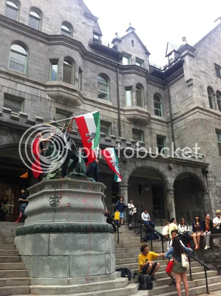 Montréal 22 mai 2012 - #manifencours PM (Manifestation Loi78)