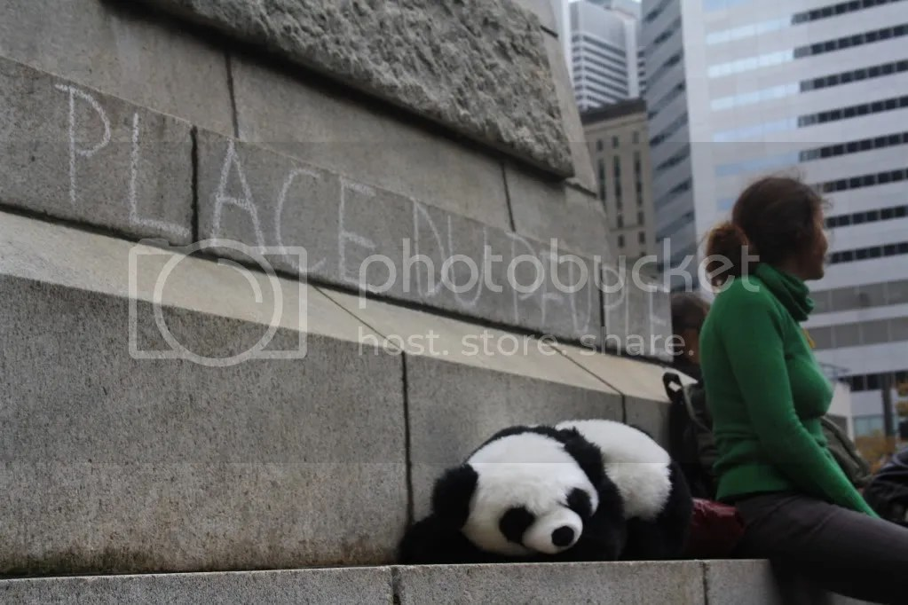 2012-10-15 - #manifencours #OccupyMontréal 13h01