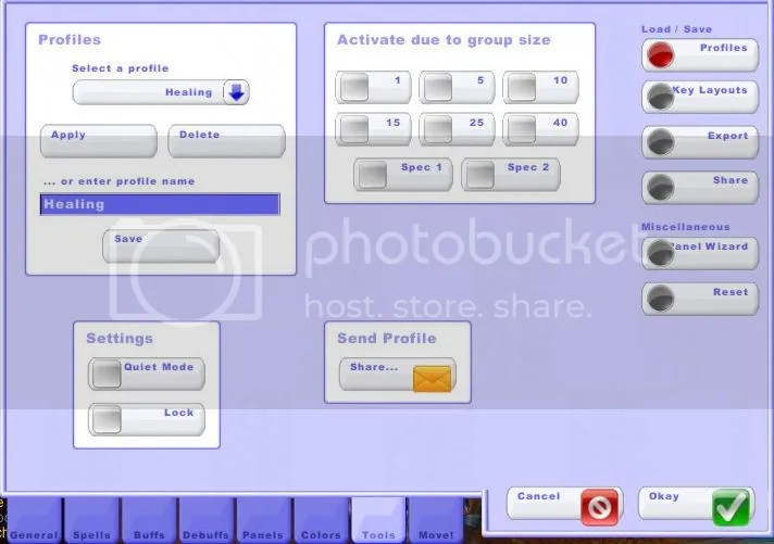 Tools (Profiles)