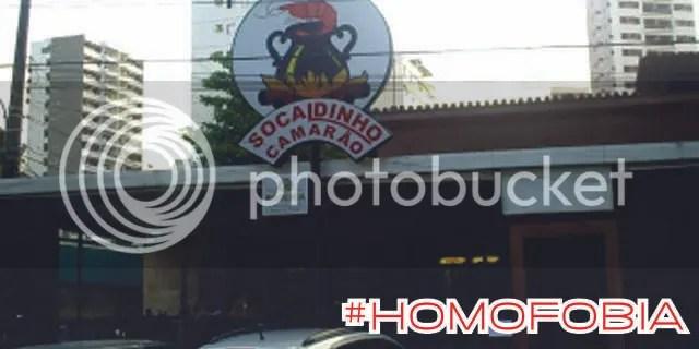 Socaldinho Homofobia