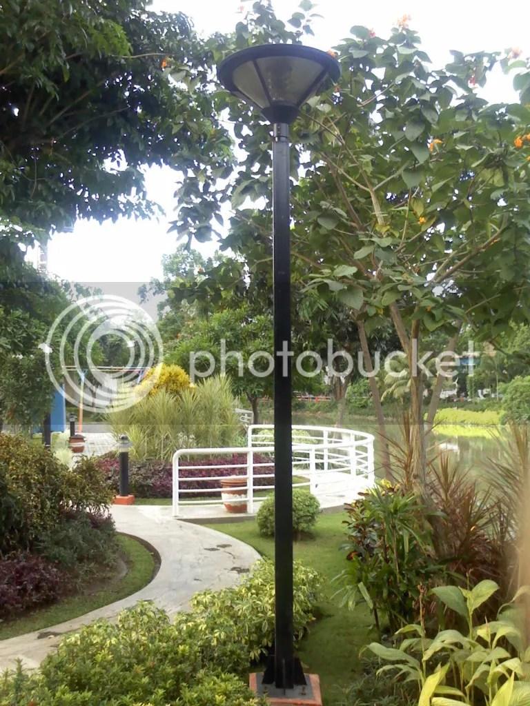 Lampu Taman Ekspresi