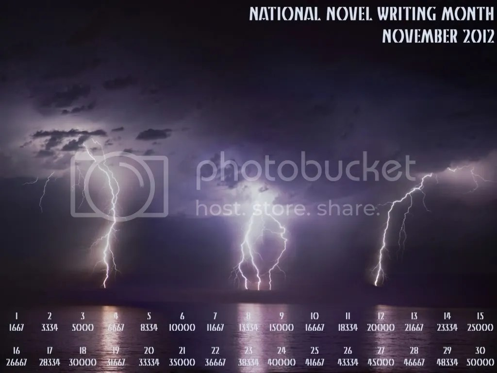 Nanowrimo 2012 Lightning Pictures, Images and Photos