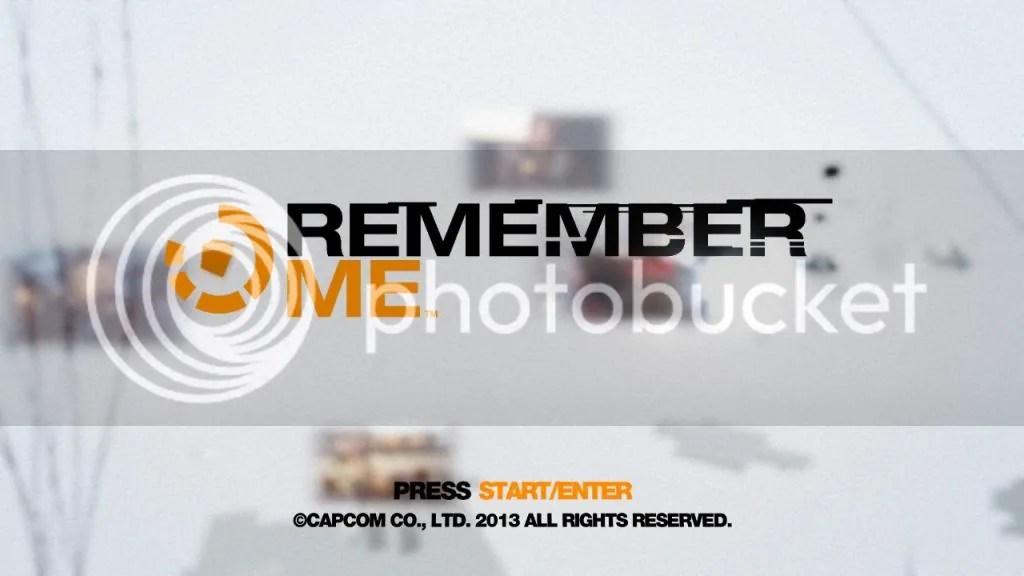 Remember Me Title Splash