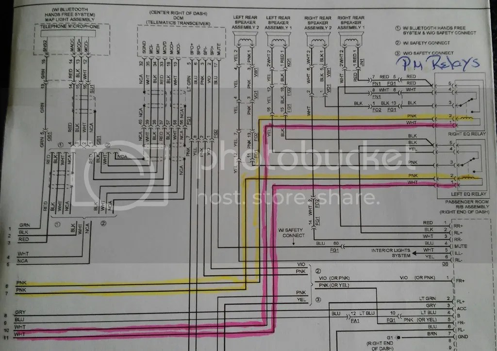 2015 Trail (with NAV) Wiring Diagram