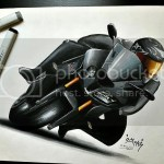 Awesome Drawing Of My Me And My S1k Bmw S1000rr Forum