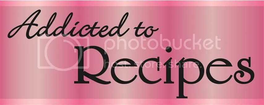 Addicted to Recipes Button, Page button