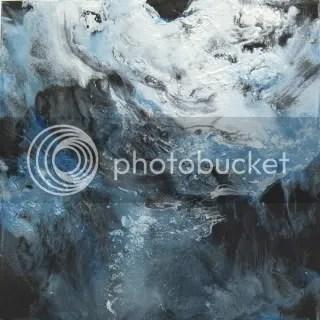 Untitled Painting (6 x 6), Ellen Steel