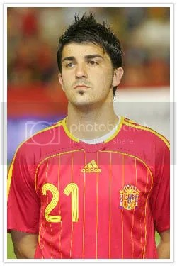 David Villa Pictures, Images and Photos