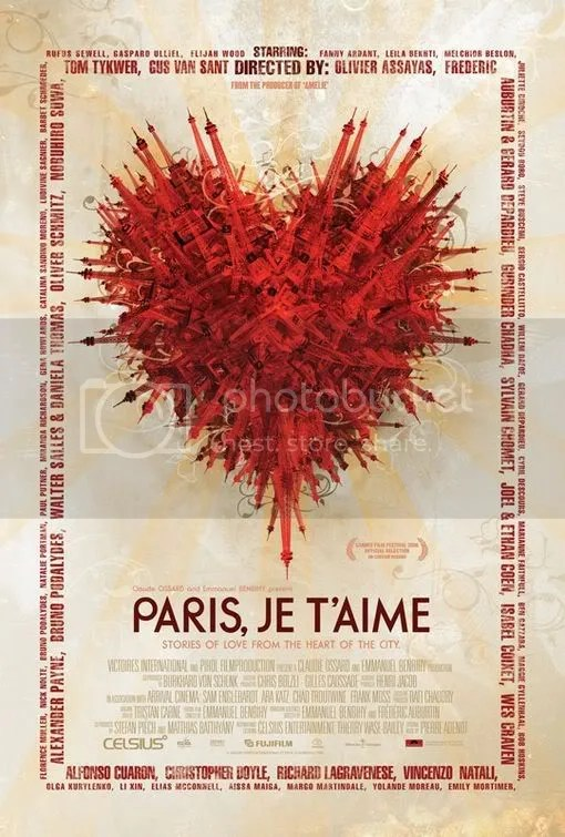 paris je t'aim movie poster