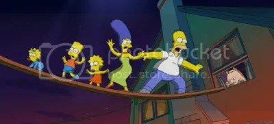 simpsons tight rope