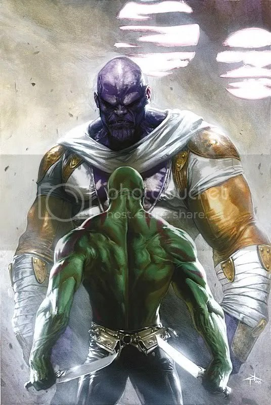 Thanos, Drax, Annhilation