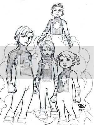 Power Pack by Mike Wieringo