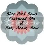 Eat, Grow, Sew at Blue Bird Sews