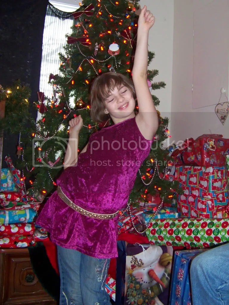 Lilly at Christmas