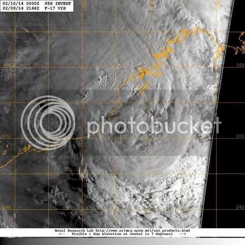tropical storm west WA 10th feb 2014