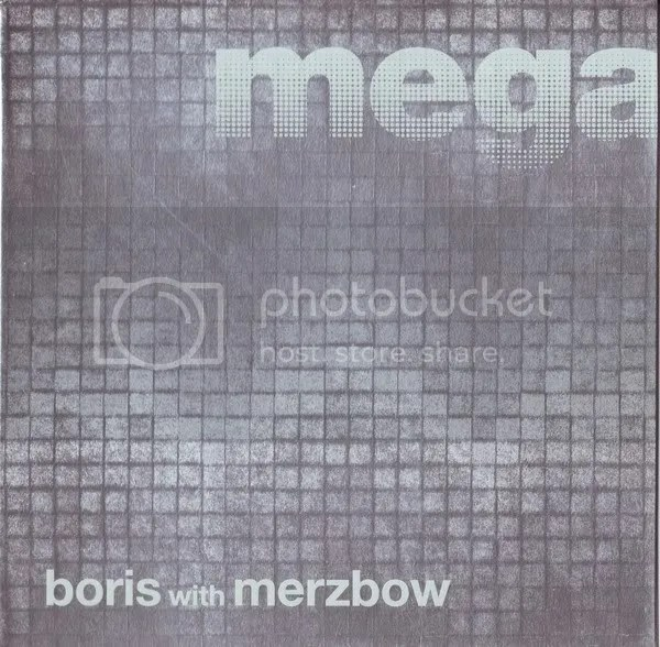 BORIS WITH MERZBOW - Megatone CD