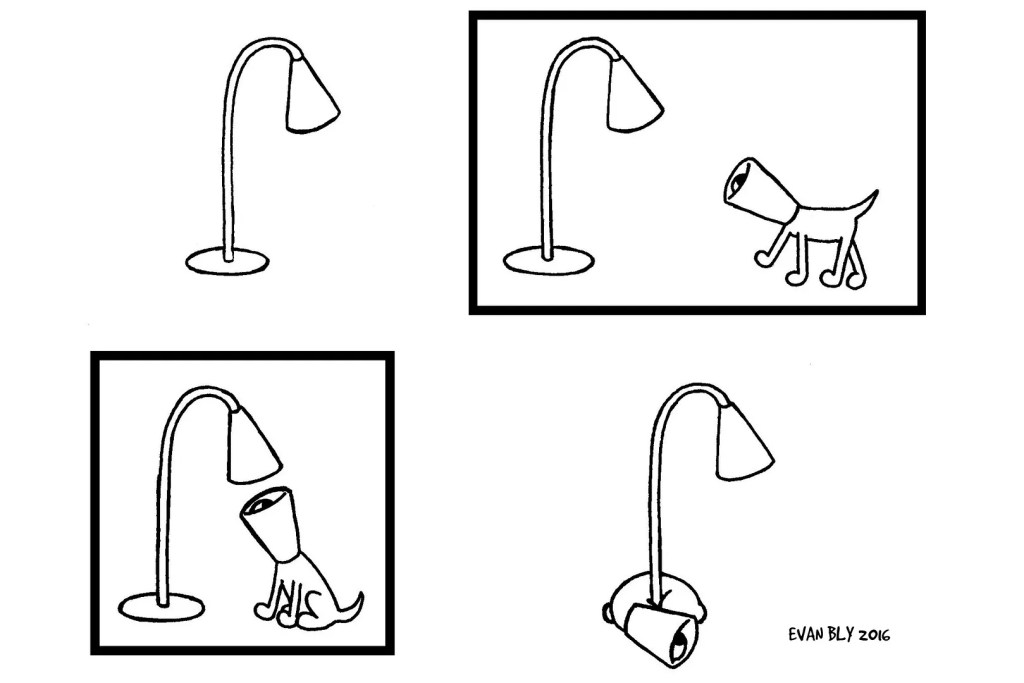 """Light"", the first strip in a short series starring Cone."
