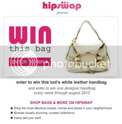 Tod's White Leather Shoulder Bag Purse Handbag