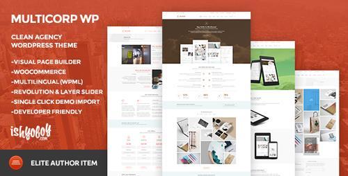 ThemeForest - Multicorp WP v2.1 - Clean Agency WordPress Theme - 10394099