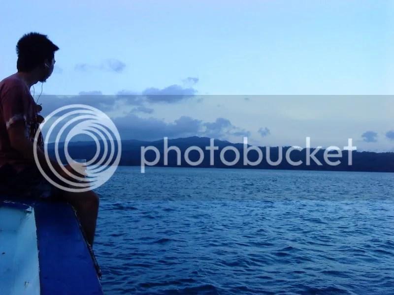 Panji @ view pagi Pulau Peucang