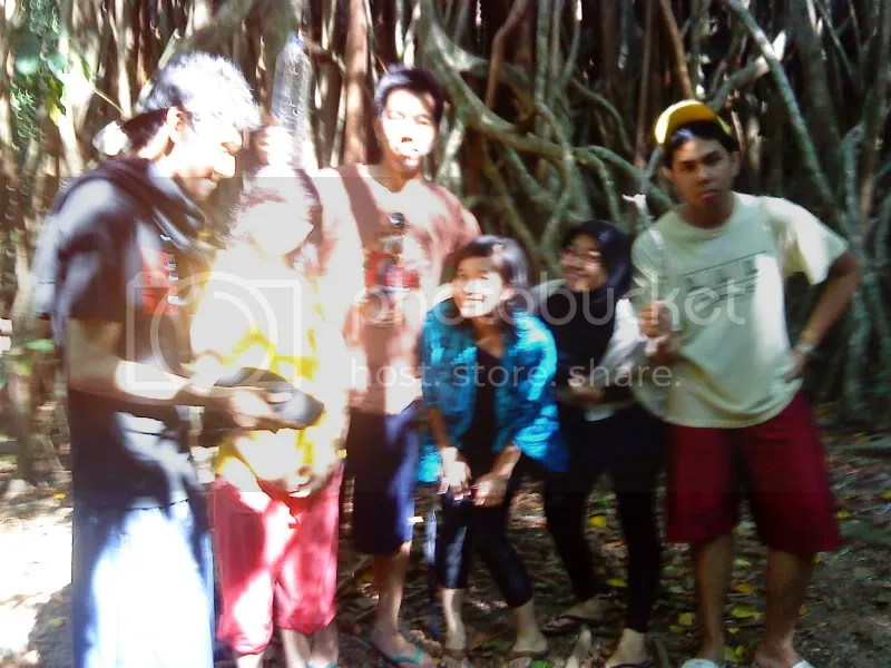 tracking to karang copong