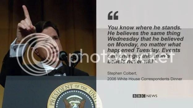 Remembering Bush Junior White House Correspondents Dinner 2006