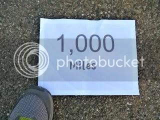 1000 MILES!!!!