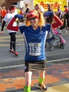 Me feeling strong and awesome after the Anthem 5K Fitness Classic