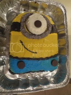 Minion cake for my Monday fun run group!