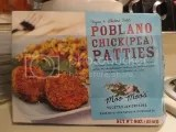 Moo Moo's Vegetarian Cuisine Vegan & Gluten-Free Poblano Chick(pea) Patties