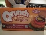 Qrunch Foods Original Qrunch Burgers