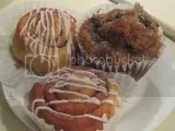 Annie May's Sweet Cafe Allergen-Free Cinnamon Rolls and Allergen-Free Blueberry Muffin