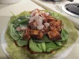 Tandoori Tofu Tortilla Wrap (made with Cofresh Tandoori Marinade)