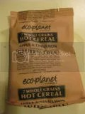 Individual packet of Eco-Planet Gluten-Free Apples and Cinnamon Instant Oatmeal