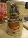 Julie's Organic Carrot Cake Ginger Ice Cream Sandwich Cookies