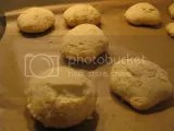 Slider buns made from Chebe Gluten-Free All Purpose Bread Mix
