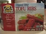 Sol Cuisine Organic BBQ Tofu Ribs