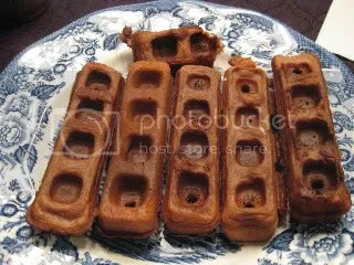 Gluten-Free Nutella Waffles