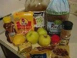 Ingredients for Rudi's Gluten-Free Bread Pudding