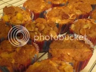 Gluten-Free Peach Almond Muffins
