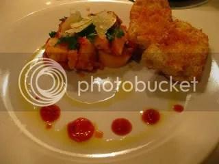 Polenta Gnocchi in Tomato Sauce