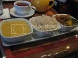 Sanaa's Vegetarian Sampler - Stewed Lentils, Basmati Rice, Vindaloo-style Vegetables