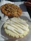 BitterSweet Gluten Free Bakery's Lemon Zinger Cookie and Monster Cookie