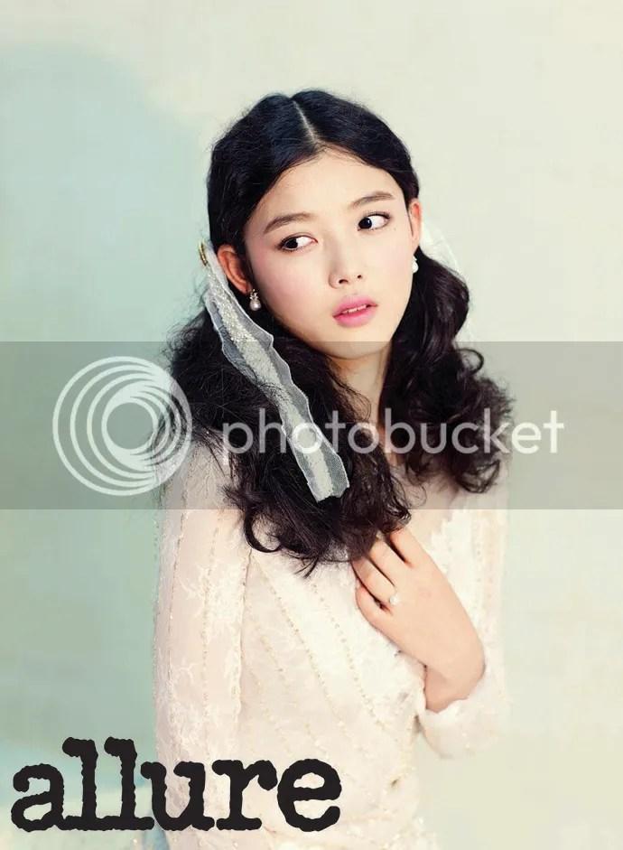 February Edition Of Allure Korea Featuring Flower Goddess