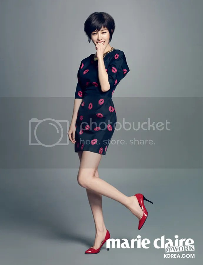 Short Haired Han Ji Min Is Cute Amp Sexy For Marie Claire
