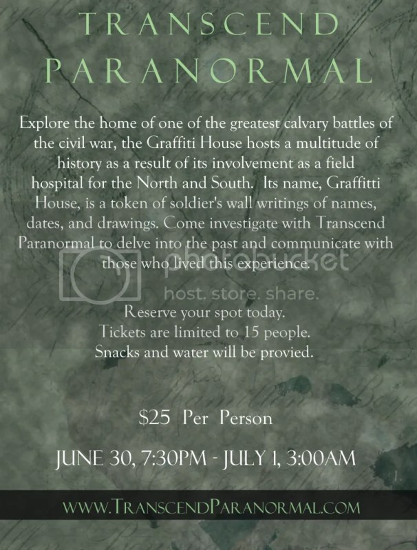 Transcend Paranormal: Haunted Henricus Lockdown 2012