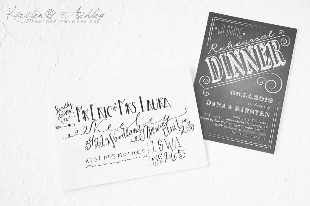 Addressed Envelope by Kirsten Ashley Photography & Design