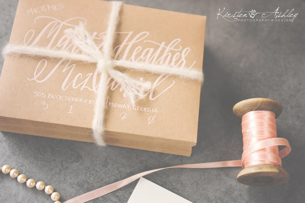 Kirsten Ashley Photography & Desing | Bespoke Wedding Invitations
