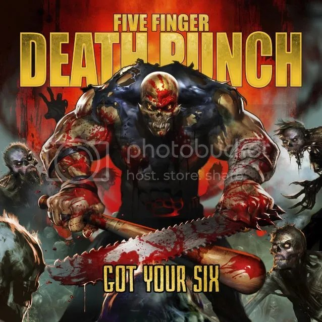 Five Finger Death Punch Announce New Album 'Got Your Six'