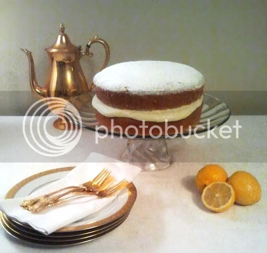 Lemon-Coriander Poppy Seed Cake